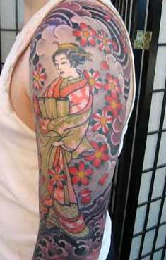 Tattoos - Geisha Blossoms - 31823