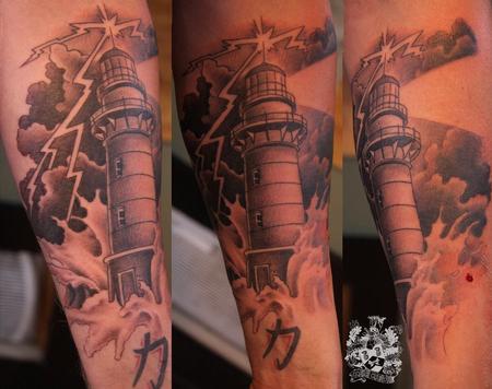 Tattoos - Light House Tattoo - 57959