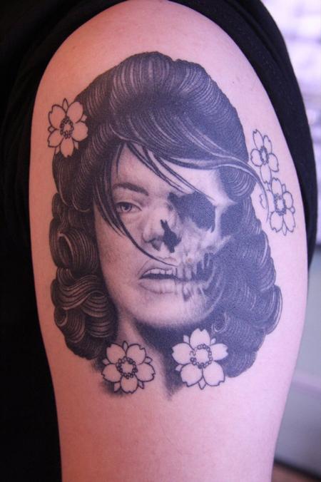 Ryan McNamara - Portrait Tattoo