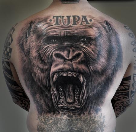 Tattoos - ape man! - 69982