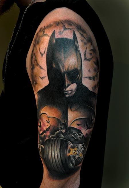 Tattoos - Dark Knight Joker - 69833
