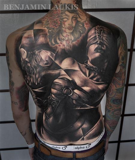 Tattoos - Bondage Girl - 71634