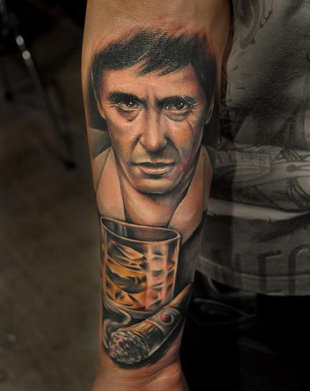 Tattoos - tony montana - 70713