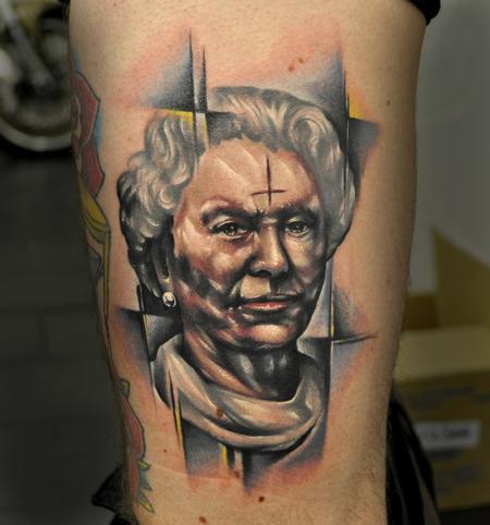 Tattoos - Queen Elizabeth - 70367