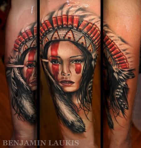 Benjamin Laukis - Apache girl