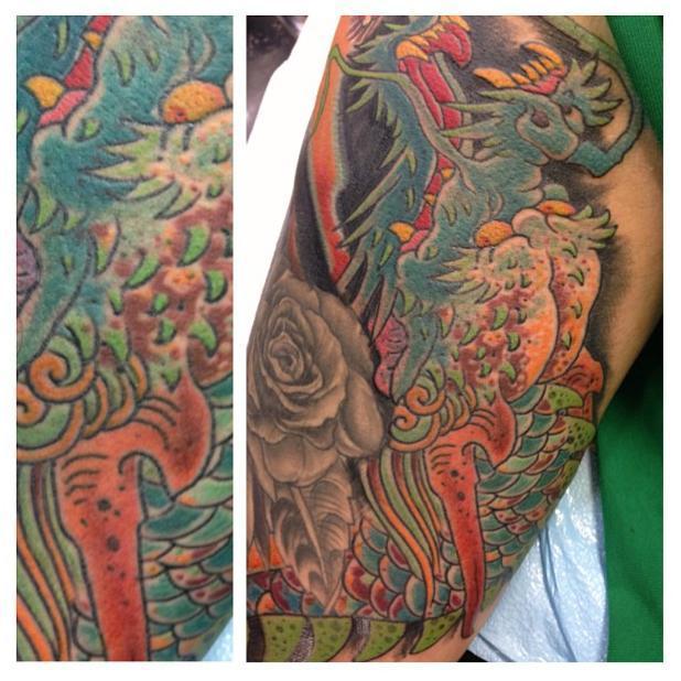 Tattoo ass octopus 125 Octopus