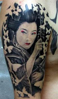 Tattoos - Giesha Tattoo - 33414
