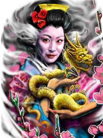 Zsolt - geisha