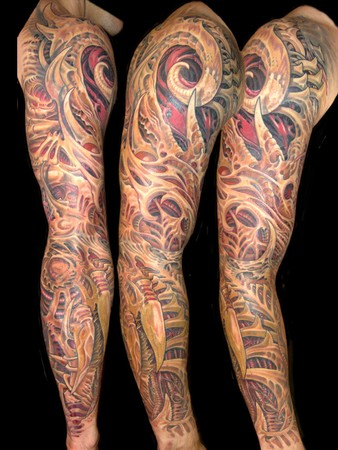 Tattoos - biomechanic arm - 34388