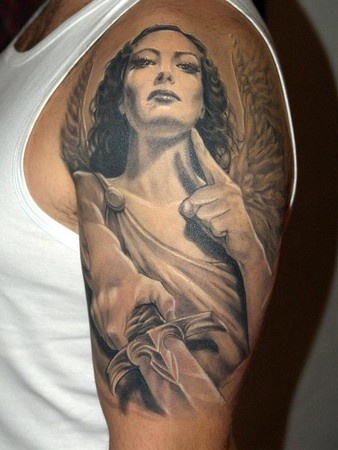 Tattoos - Angel of Justice - 33936