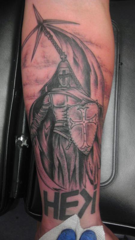 Tattoos - templar knight - 99994