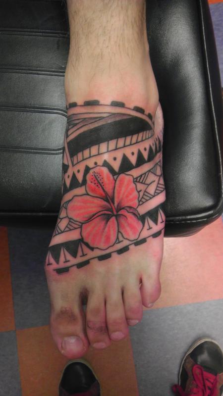Tattoos - polynesian tribal - 99996