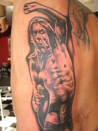 Tattoos - Iggy Pop Tattoo - 48830