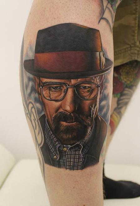 Tattoos - Breaking Bad Tattoo of Walter White - 91203