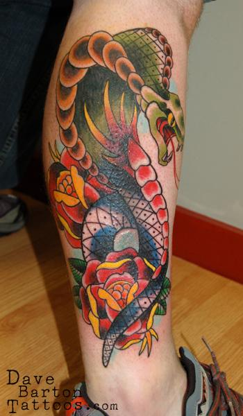 Traditional Cobra By Dave Barton Tattoonow