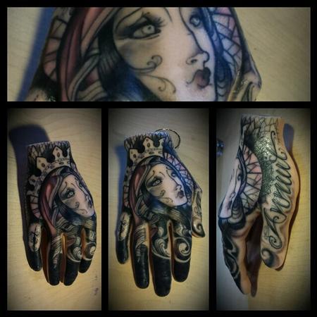 Tattoos - Virgin Mary.  A pound of flesh - 92062