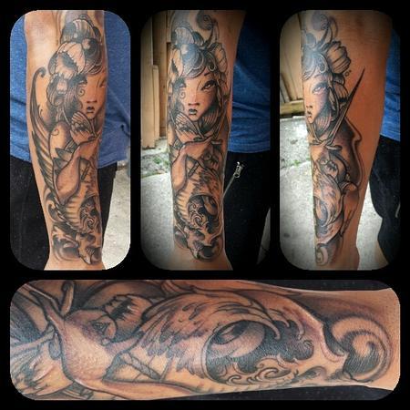 Tattoos - Pretty girl tattoo - 92086