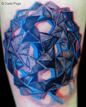 David Page - Geo Tattoo
