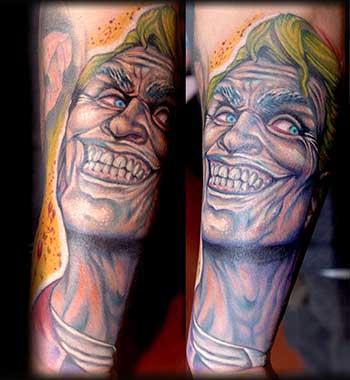 Tattoos - Laughing Man - 33711