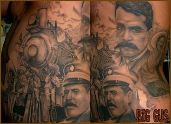 Tattoos - Train tattoo - 37656