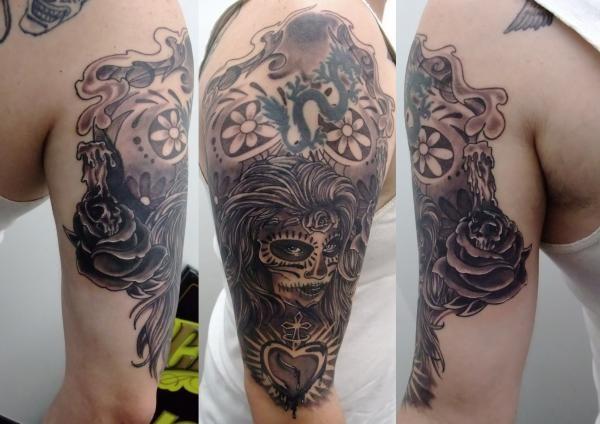 Tattoos - Sugar Girl Tattoo - 49581