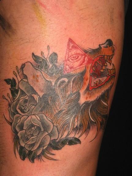 Spider - Wolf Tattoo