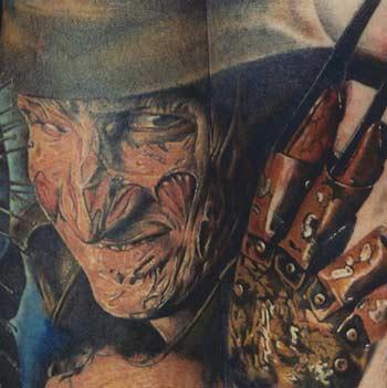 Tattoos - Freddy Krueger - 31247