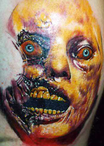 Tattoos - Gory Portrait - 31249