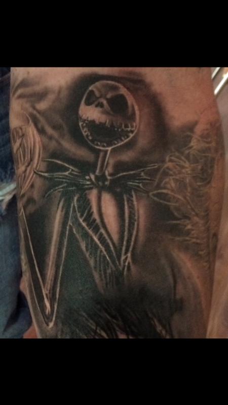 Tattoos - Jack Skelington Nightmare Before Christmas - 119197