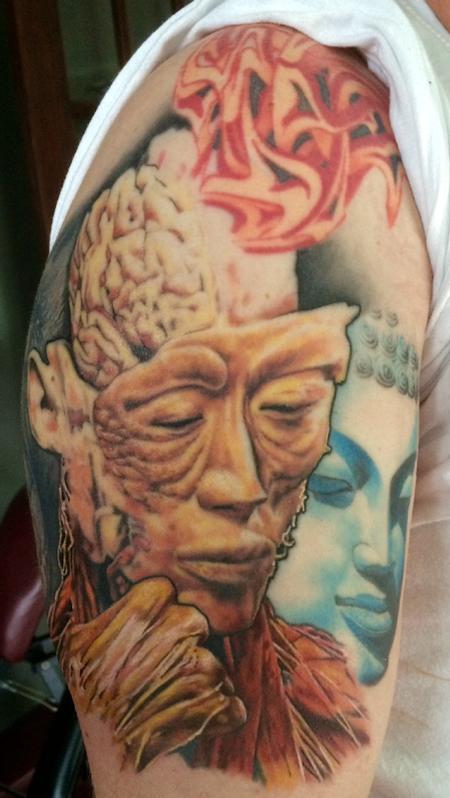 Tattoos - Colored spiritual tattoo - 119189
