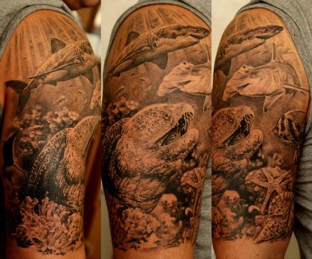 Tattoos - Sea elements - 60728