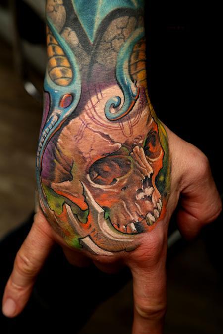 Tattoos - Custom Bio-Mech  - 63828