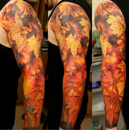 Tattoos - Autumn Sleeve - 63830