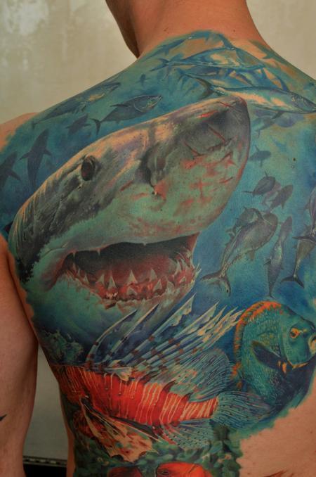 Tattoos - Shark - 60721