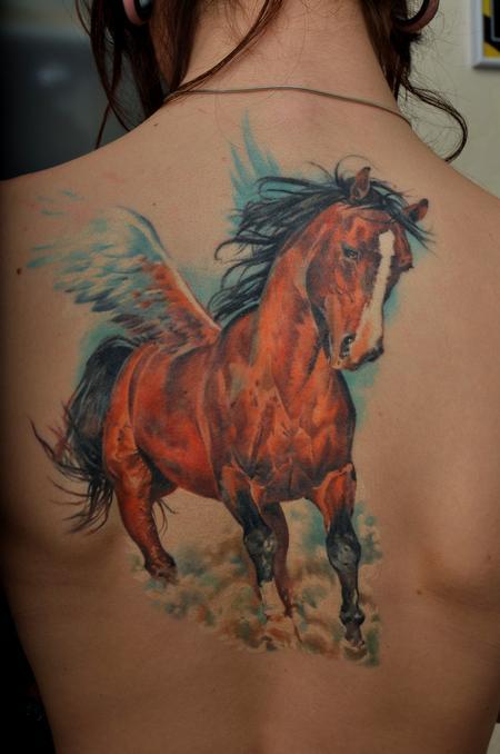 Tattoos - Horse - 60723