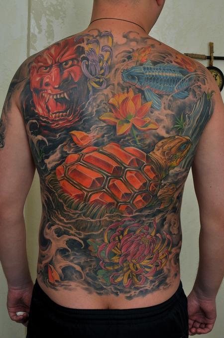 Tattoos - Oriental - 60725