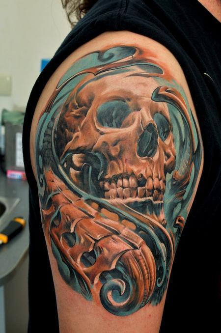 Tattoos - Skull - 60718