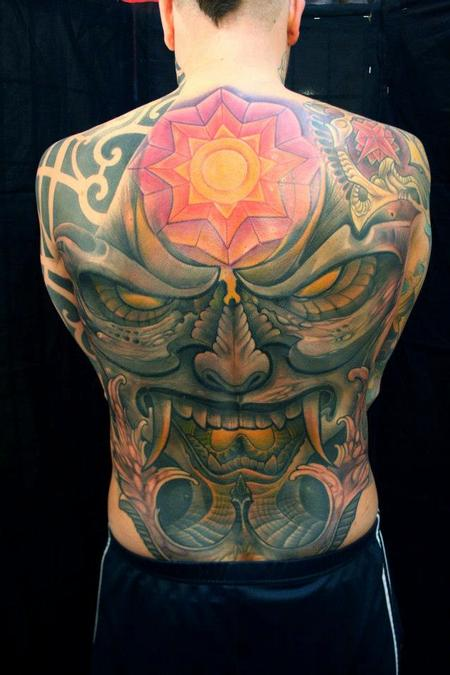 Tattoos - Demon Back Piece  - 89942