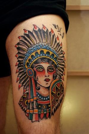 Tattoos - Indian tattoo - 52222