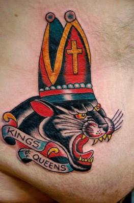 Tattoos - Panther - 52691