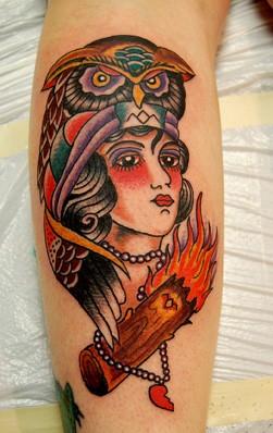 Tattoos - Log Lady - 52689