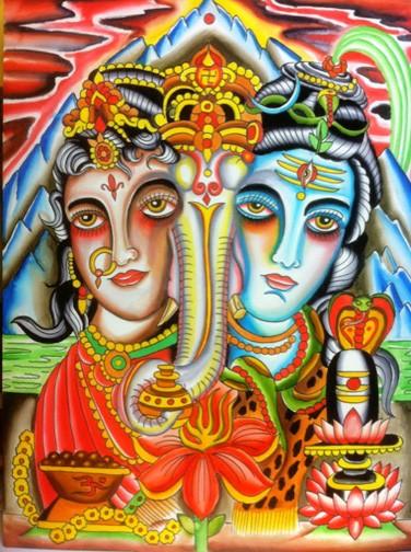 Robert Ryan - Shiva, Ganesha, Paravati