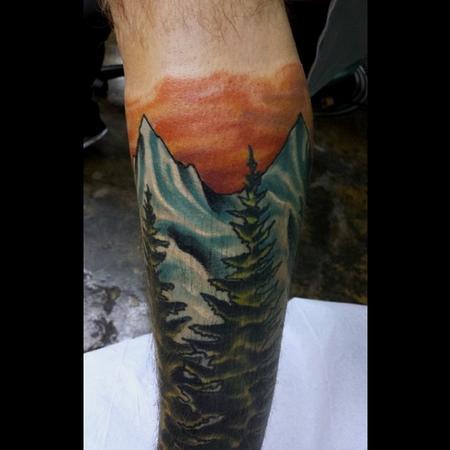 Tattoos - Washington Nature - 82362