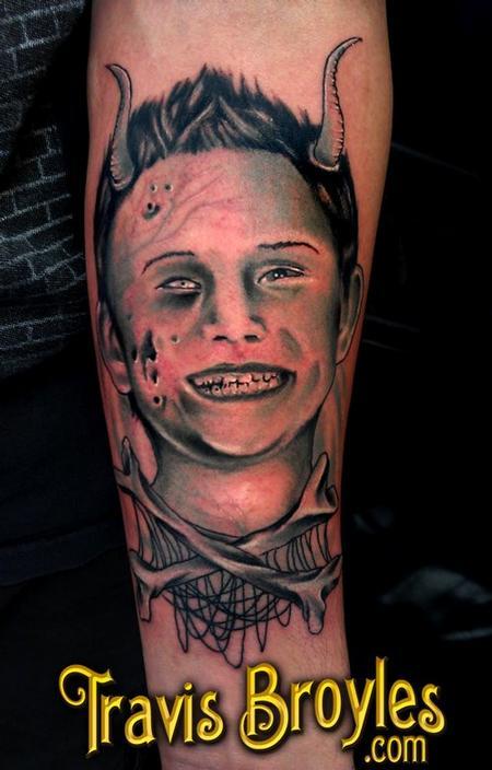 Tattoos - Zombie boy - 64978