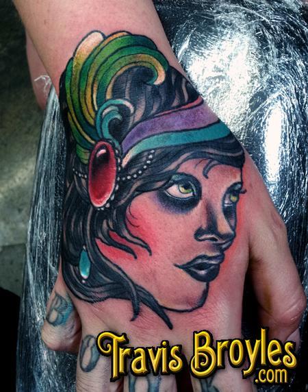 Tattoos - Gypsy Job Stopper  - 67414