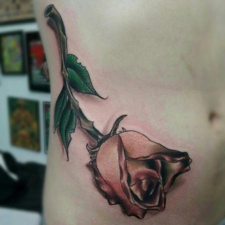 Tattoos - Dying Rose - 72833