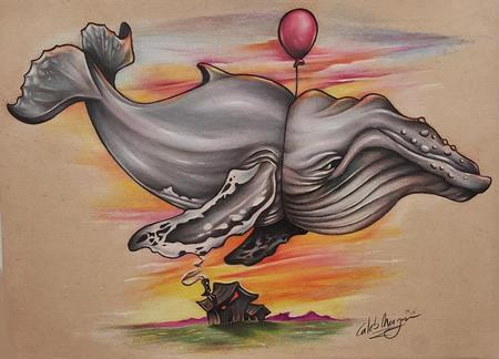 Caleb Morgan - Floating Whale