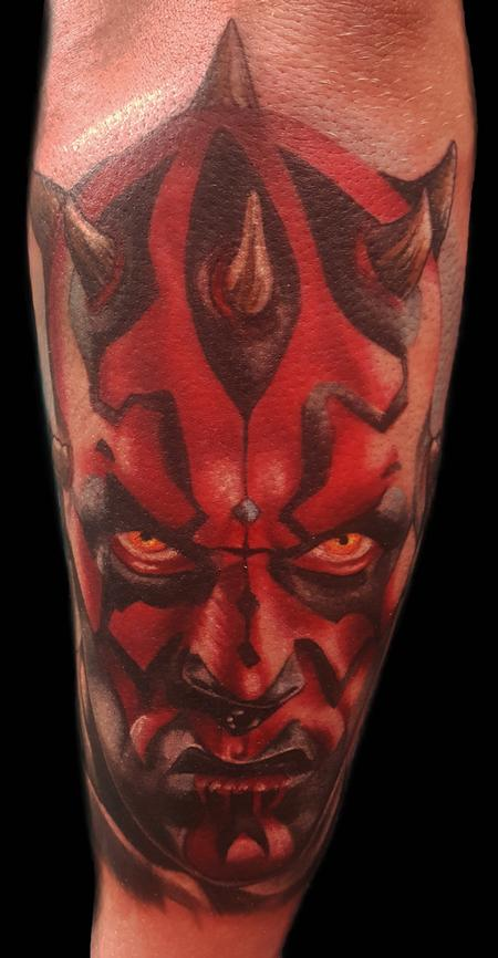 Tattoos - darth. maul from star wars - 129866