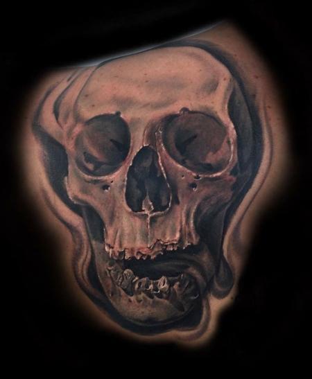 Tattoos - Skull Tattoo - 131779