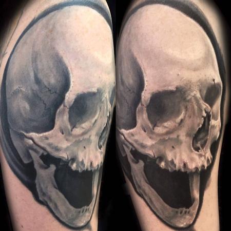Tattoos - Skull Tattoo - 131774
